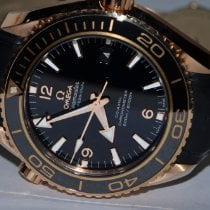 Omega Seamaster Planet Ocean Rose gold 45mm Black Arabic numerals United States of America, New York, Greenvale