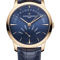Vacheron Constantin Patrimony Rose gold 42.5mm Blue United States of America, Florida, North Miami Beach