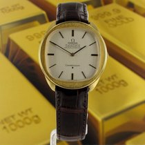 Omega 136041 Yellow gold 1969 34mm pre-owned
