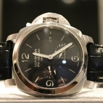 Panerai Luminor 1950 3 Days GMT Power Reserve Automatic Steel 42mm Black United States of America, New York, New York