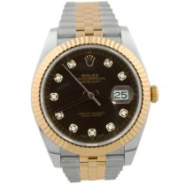 Rolex Datejust II Gold/Steel 41mm Brown No numerals United States of America, California, Fullerton