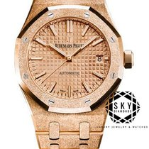 Audemars Piguet Damenuhr Royal Oak Lady 37mm Automatik neu Uhr mit Original-Box und Original-Papieren 2019