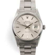 Rolex Air King Date Steel 34mm Silver No numerals United Kingdom, London