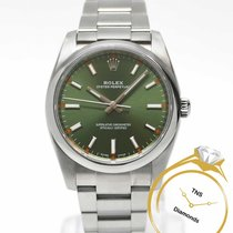 Rolex Oyster Perpetual 34 34mm Green United States of America, Pennsylvania, Philadelphia