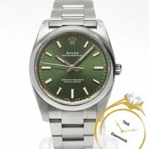 Rolex Oyster Perpetual 34 34mm Green