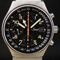 Sinn 144 Steel 41mm Black Arabic numerals