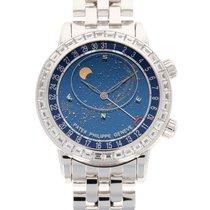 Patek Philippe Celestial White gold 44mm Blue