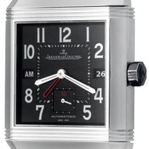 Jaeger-LeCoultre Reverso Squadra Hometime Steel 35mm Black Arabic numerals United States of America, Texas, Dallas
