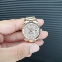 Rolex Lady-Datejust Rose gold 26mm Pink Roman numerals Singapore, Singapore