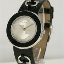 Gucci Stahl 35mm Quarz gebraucht