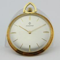 Candino Yellow gold 38mm Manual winding pre-owned