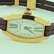 Cartier Lanières Yellow gold White Roman numerals United States of America, New York, Greenvale