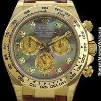Rolex Daytona 18k 116518 Tahitian Mother Of Pearl New Box...