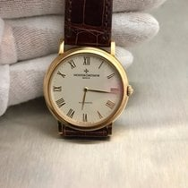 Vacheron Constantin 43039 18k Yellow Gold Ivory Dial Pre Owned...