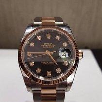 Rolex Datejust 36mm rose black dial