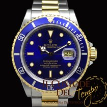 Rolex Submariner Date 16803 Steel Gold