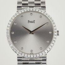 Piaget pre-owned Manual winding 32mm Silver Sapphire Glass