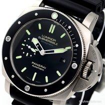 Panerai Luminor Submersible 1950 Amagnetic 3 Days Titanio...