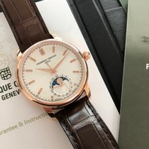 Frederique Constant Manufacture Classic Moonphase Gold/Steel 40.5mm