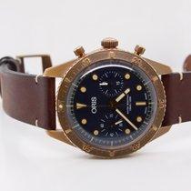 Oris Carl Brashear Bronze 43mm Blue No numerals United States of America, Pennsylvania, Uniontown