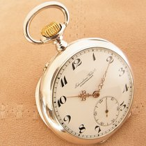 IWC Silver pocket watch International Watch Co 1907