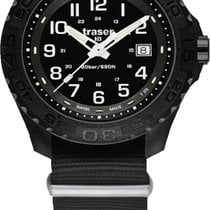 Traser 44mm Quartz new Black