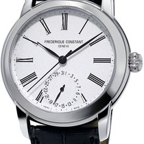 Frederique Constant Manufacture Classic Silver United States of America, New York, Brooklyn