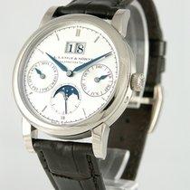 A. Lange & Söhne Saxonia White gold 38mm Silver