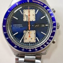 Seiko Steel 43mm Automatic 6138-0030 pre-owned