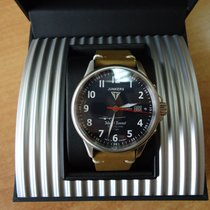 Junkers Steel 40mm Automatic 6864-3 new