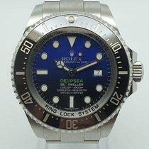 Rolex Sea-Dweller Deepsea rabljen 44mm Crn Datum, nadnevak Zeljezo