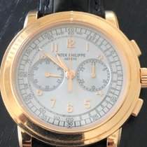 Patek Philippe Chronograph Rose gold 42mm Silver Arabic numerals United States of America, California, LOS ANGELES
