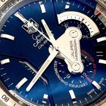 TAG Heuer Grand Carrera tweedehands 43mm Zwart Chronograaf Datum Staal