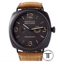 Panerai Ceramic Manual winding Brown Arabic numerals 47mm new Special Editions