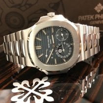 Patek Philippe 5712/1A-001 Staal 2008 Nautilus 40mm tweedehands