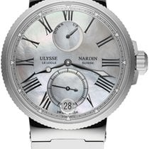Ulysse Nardin new Automatic Small Seconds Chronometer Screw-Down Crown 39mm Steel Sapphire Glass
