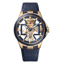 Ulysse Nardin Executive Skeleton Tourbillon new Manual winding Watch with original box and original papers 3716260/03