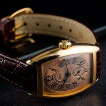 Franck Muller Yellow gold 25mm Manual winding 1752 S6 pre-owned