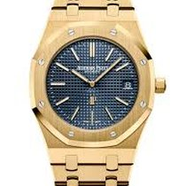 Audemars Piguet Royal Oak Jumbo Yellow gold 39mm Blue