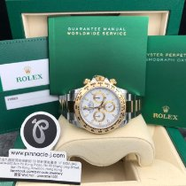 Rolex Daytona Gold/Steel 40mm White No numerals