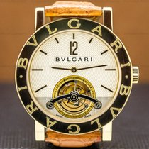 Bulgari Bulgari Yellow gold 38mm Silver Arabic numerals United States of America, Massachusetts, Boston