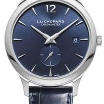 Chopard Platinum Automatic Blue 40mm new L.U.C