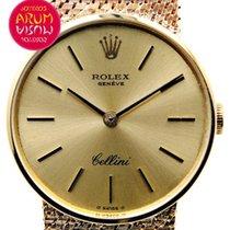 Rolex Cellini Жёлтое золото 24mm Жёлтый
