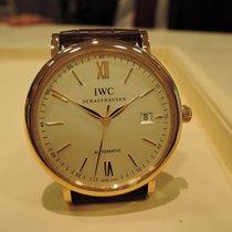 IWC Red gold Automatic Silver 40mm new Portofino Automatic
