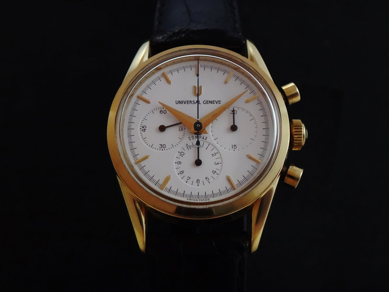 Universal Genève Compax 184.440 1995 pre-owned