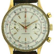 Breitling Chronomat vergoldet mit Reiskornlünette
