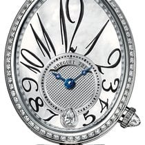 Breguet White gold Automatic Mother of pearl 28.5mm new Reine de Naples