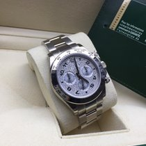 Rolex Daytona White Gold Pave Diamond Dial