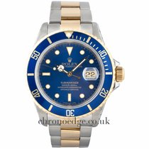 Rolex Submariner  Steel & 18ct Gold (Rolex Serviced 2017)
