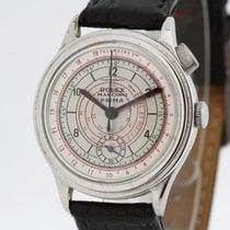 Rolex Chronograph Aço 29.5mm Prata Árabes